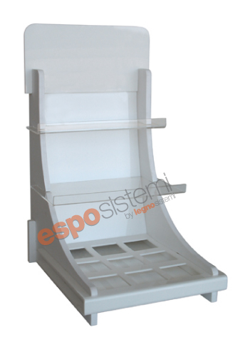 Espositore in plexiglass da banco PS 228
